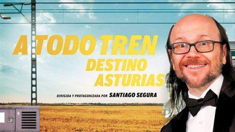 Nuevo en Cines, Santiago Segura: A todo tren destino Asturias